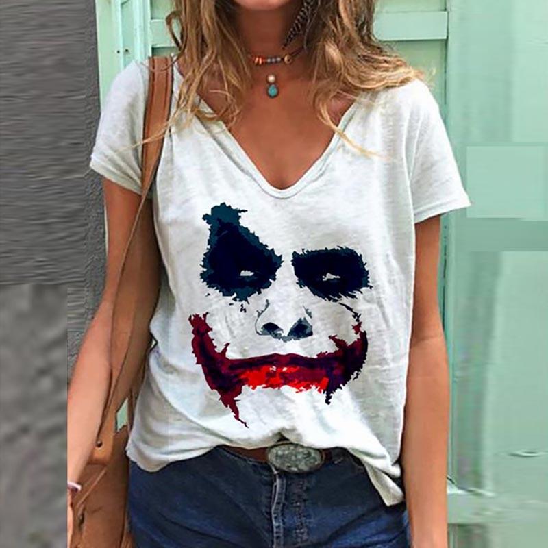 Halloween Printed Woman Tshirts