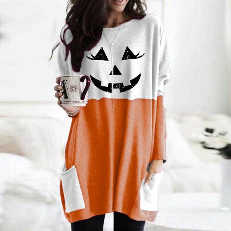 2020 Halloween  Pumpkin face