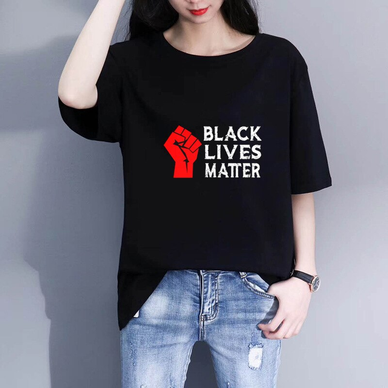 Black Lives Matter Letter Print