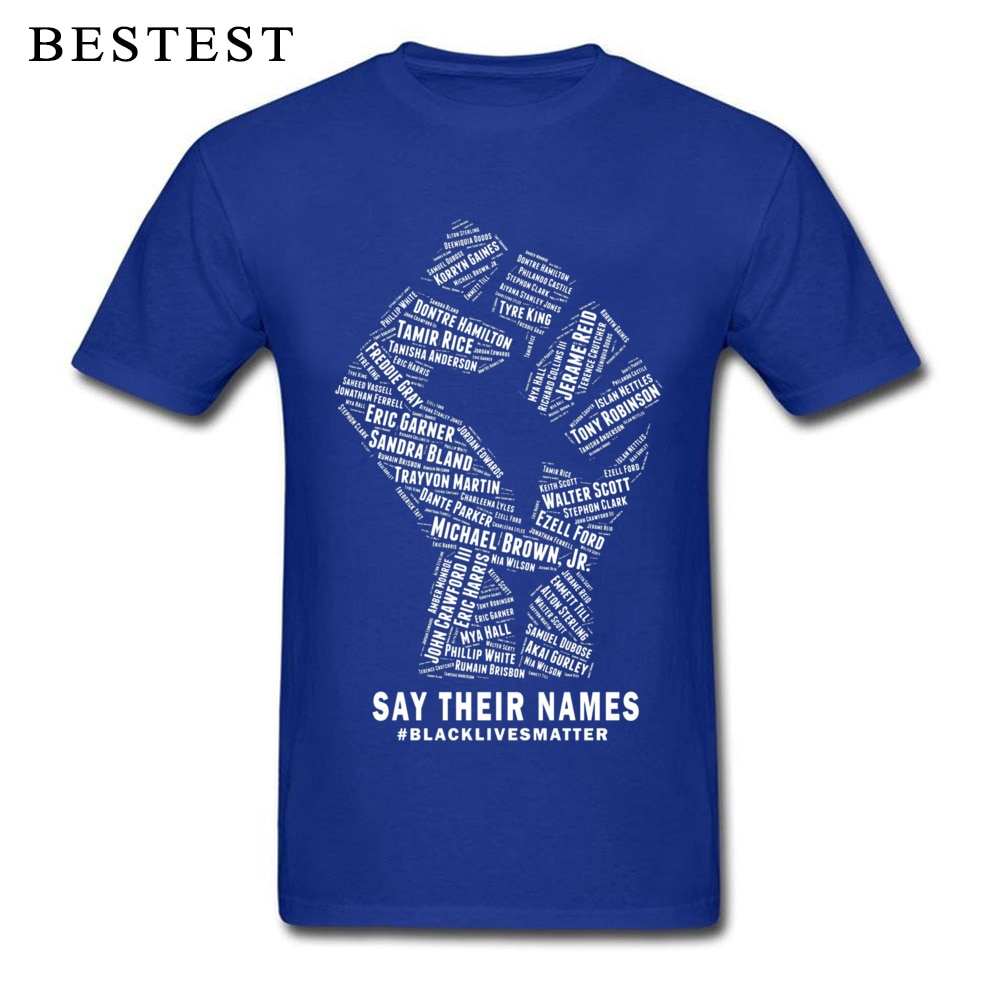 Rebel T-shirt Men Black Lives Matter