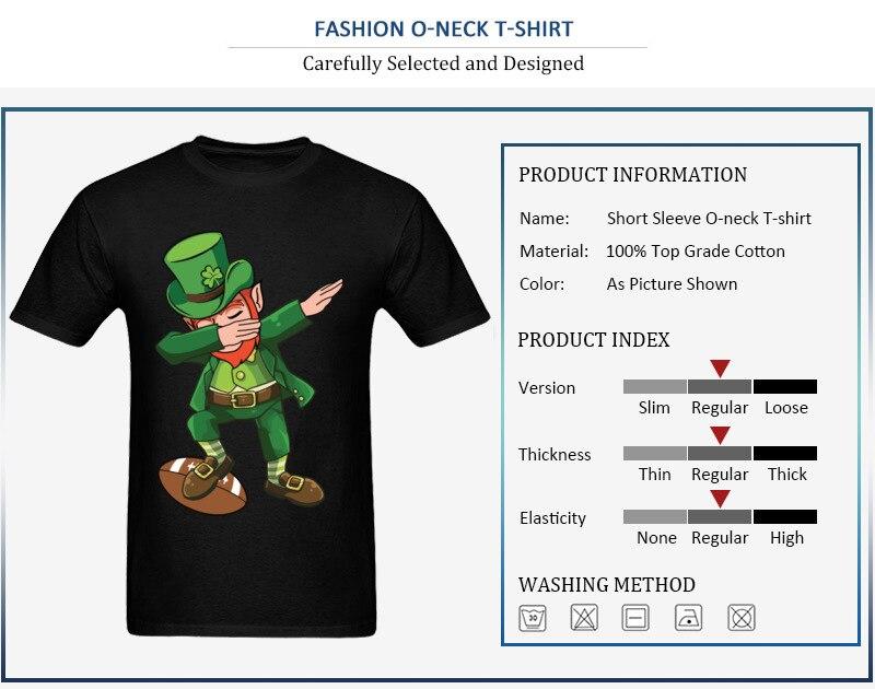 Dabbing Ireland Leprechaun T-Shirt