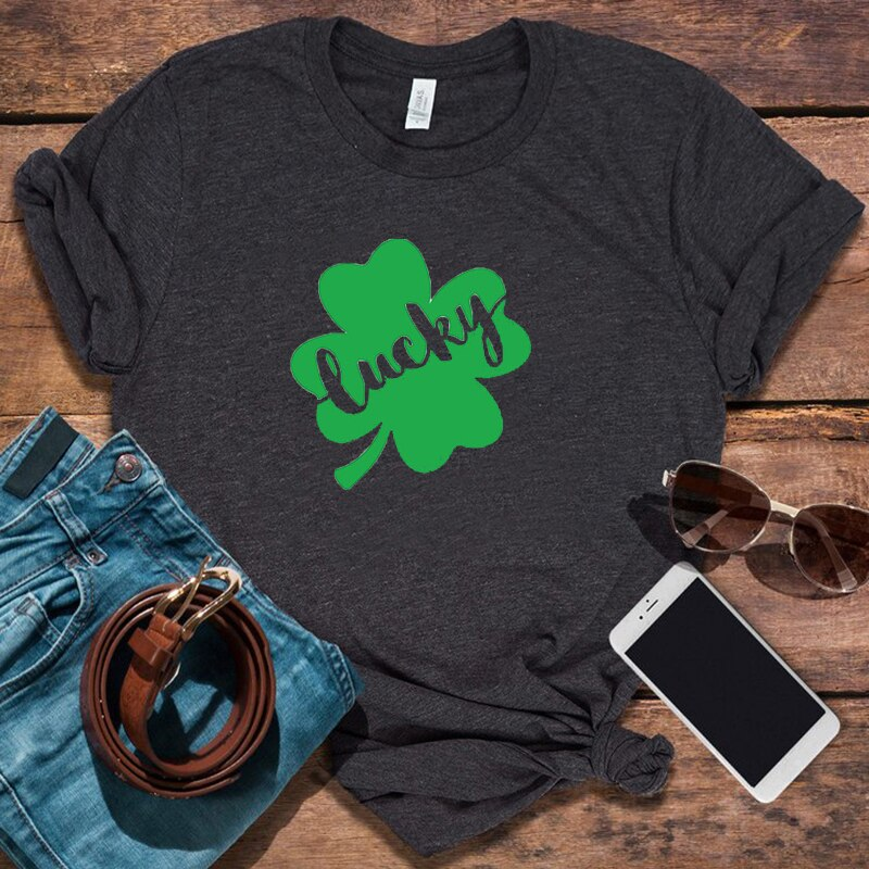 St. Patrick's Day Shirt 90s Graphic